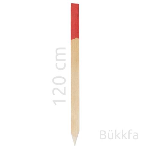 Bükkfa geodéziai földmérő cölöp / jelölőkaró / cövek - 120 cm